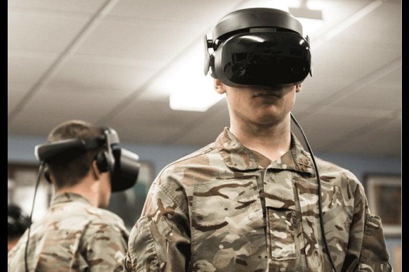 UK VR training
