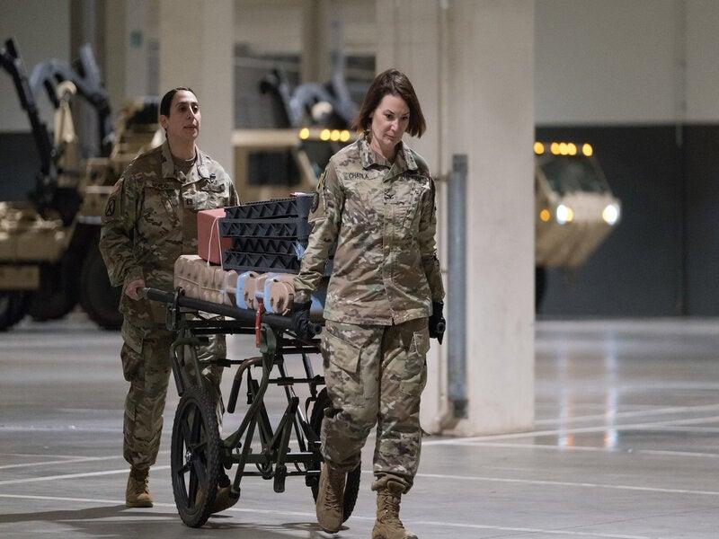 Army hospital Seattle