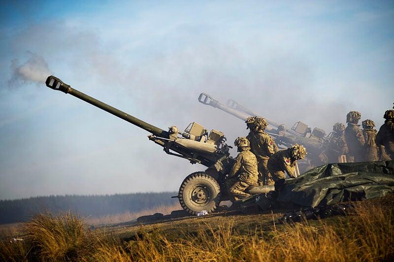 Rheinmetall artillery