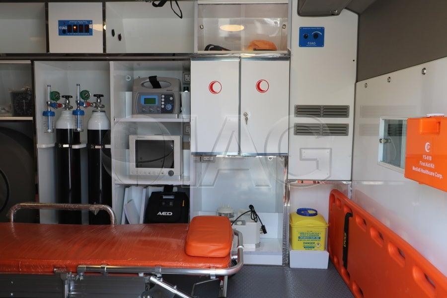 IAG COVID19 Ambulance Oxygen and Ventilator Equipment