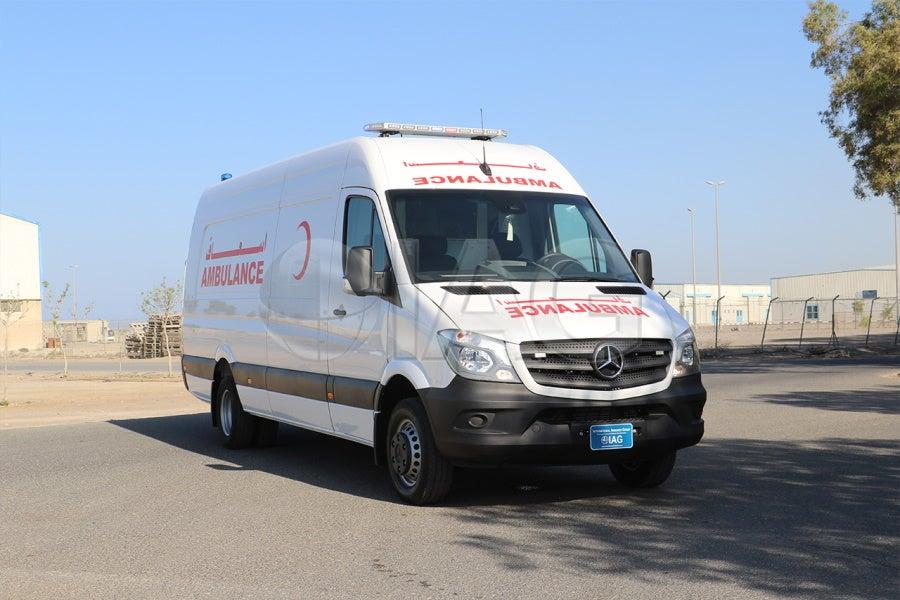 IAG COVID19 Mercedes Benz Sprinter Ambulance