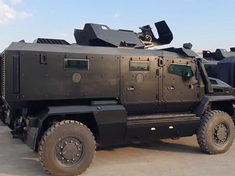 Image 1-Thunder MRAP Vehicle