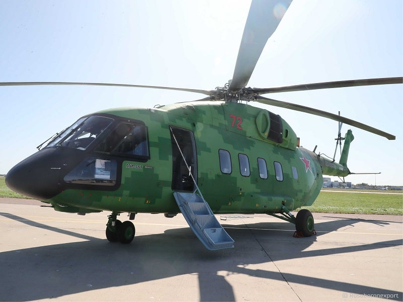The first flight of Mi-38T helicopter was conducted in November 2018.