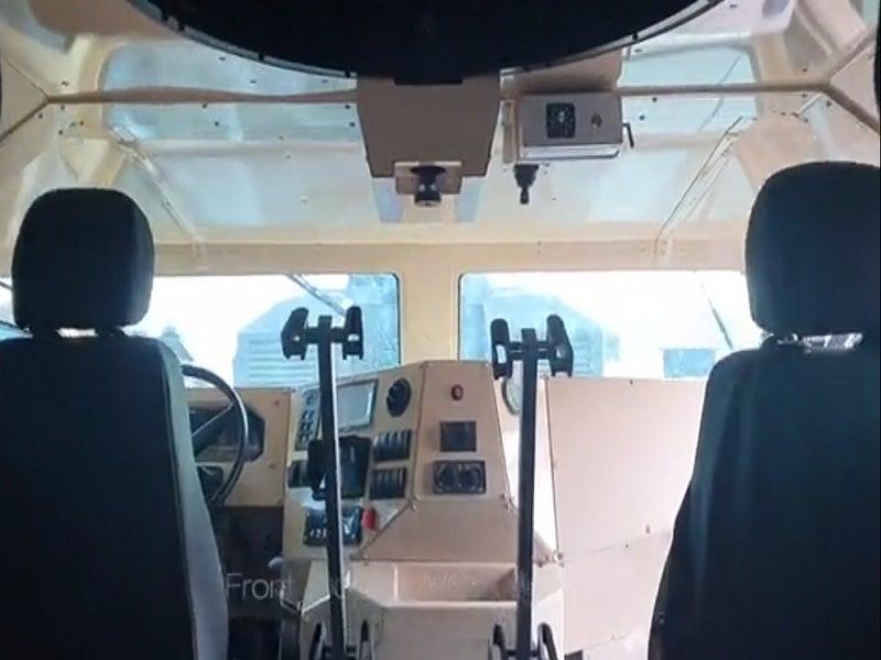 Thunder MRAP Vehicle