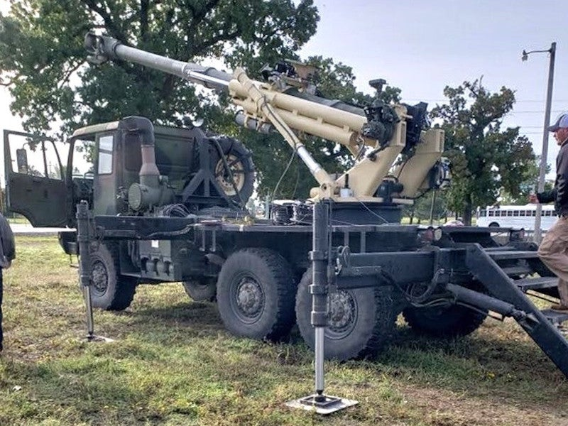 Brutus Mobile Howitzer
