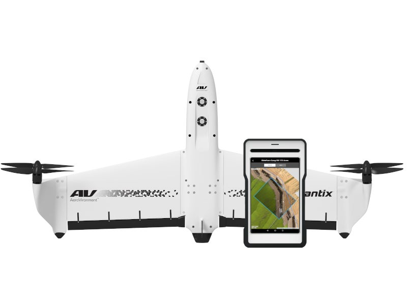 The images allow pinch and zoom to view every detail with precision and speed. Image courtesy of AeroVironment, Inc.