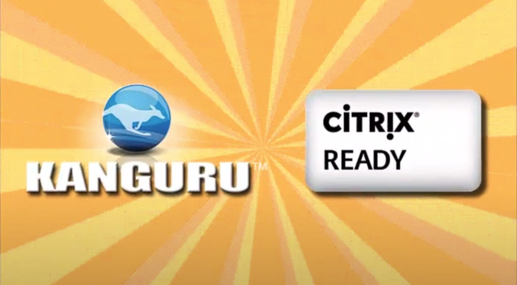 4. Kanguru Defender Secure Drives with Citrix-Ready XenDesktop Access