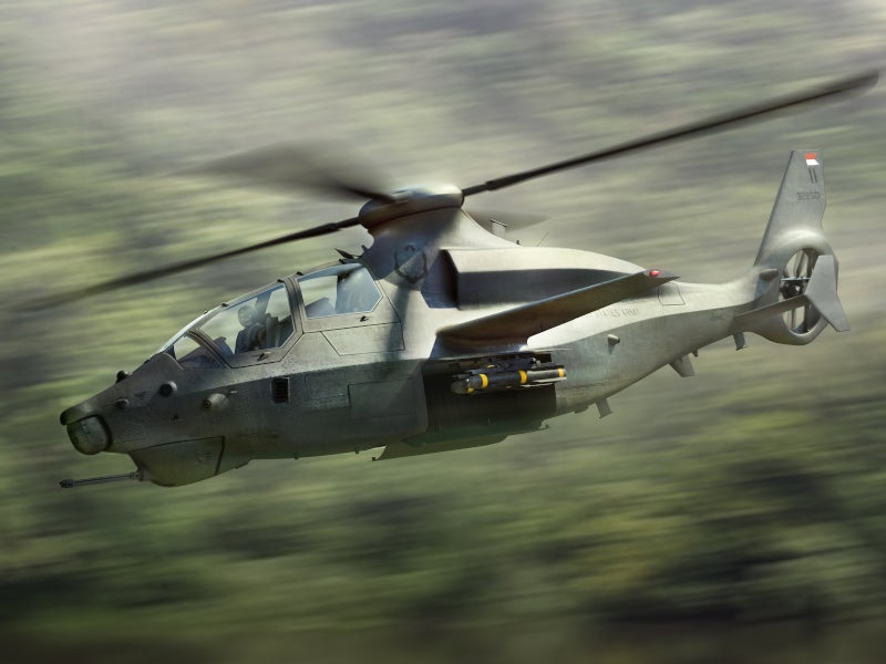 Bell 360 Invictus is an attack and reconnaissance helicopter being developed by Bell Textron. Image courtesy of Bell Textron Inc.