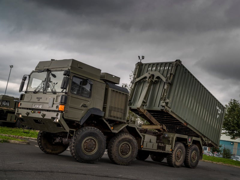 RMMV's HX family of vehicles includes high mobility truck systems. Image courtesy of MAN.