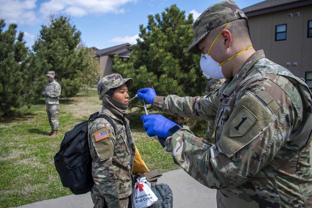 Soldiers reach US Army's 1st Infantry Division after training