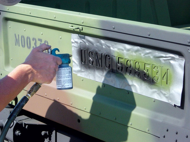 Touch-Up Paints-Stenciling