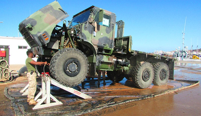 Vehicle Wash Systems – Exercise African Lion 2017 (2)
