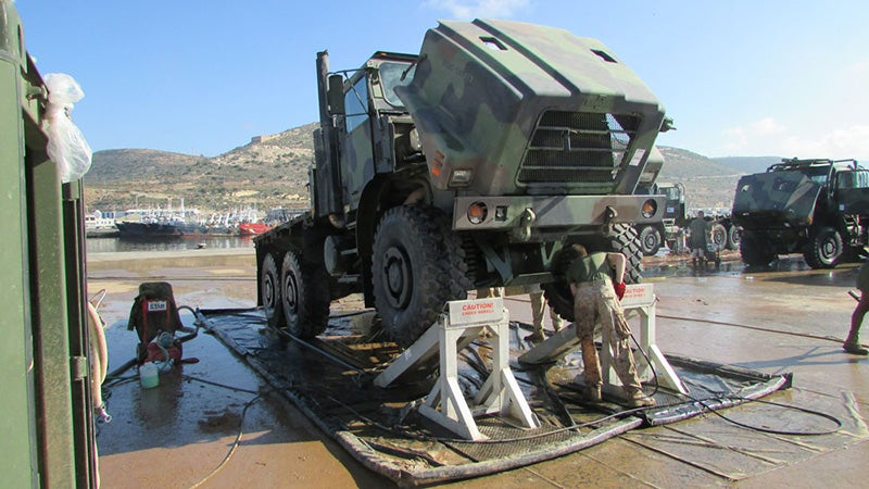 Vehicle Wash Systems – Exercise African Lion 2017