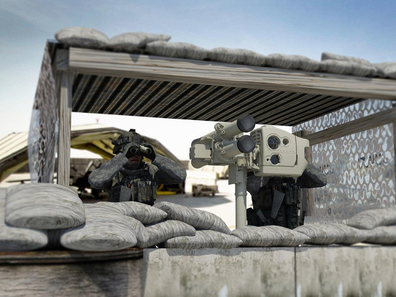 LMM can be fired from the Lightweight Multiple Launcher - Next Generation (LML-NG). Image courtesy of Thales.