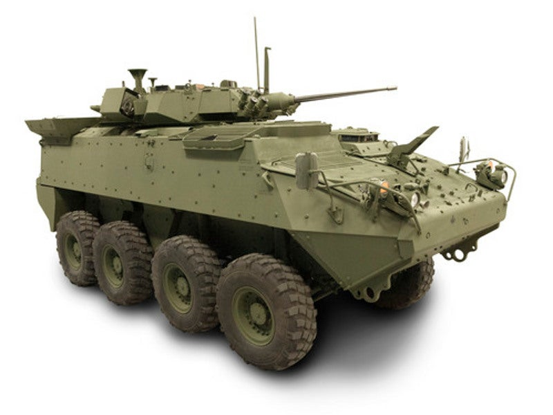 LAV 6.0 features blast-deflecting double-V hull. Image courtesy of General Dynamics Land Systems-Canada.