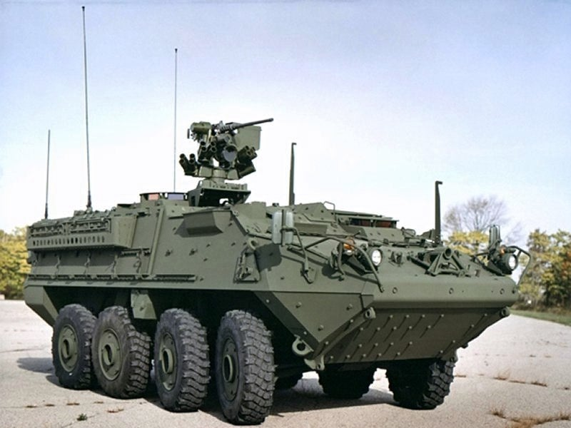 IM-SHORAD air defence system is equipped with Moog's Reconfigurable Integrated-weapons Platform (RIwP) turret system. Image courtesy of U.S.