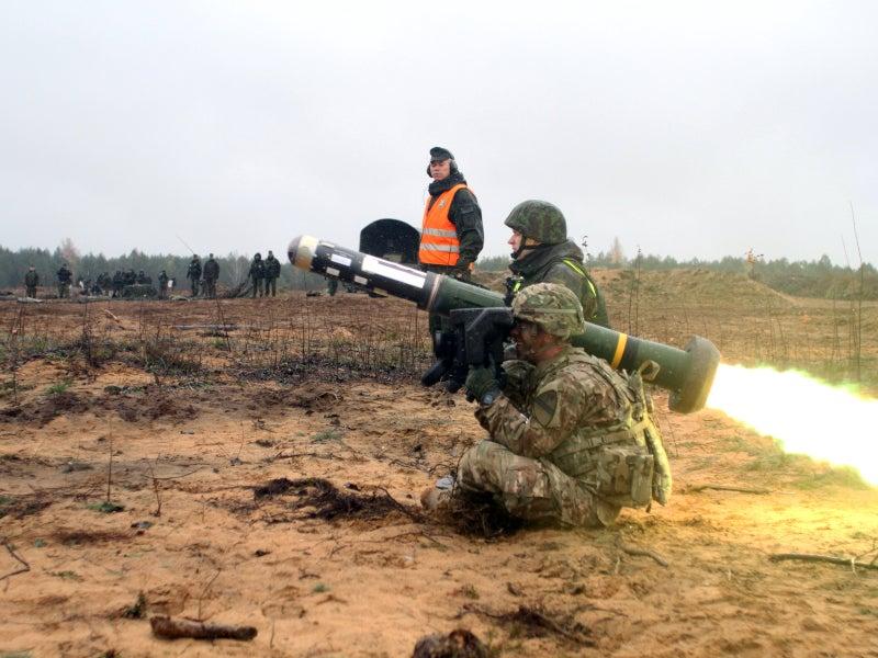 Javelin Portable Anti-Tank Missile
