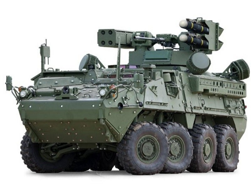IM-SHORAD is installed with MX-GCS electro-optical/infrared (EO/IR) sighting system. Image courtesy of Ed House, Colonel, U.S. Army (Retired).