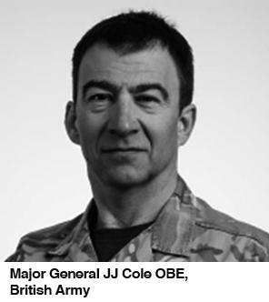 Maj Gen JJ Cole bw