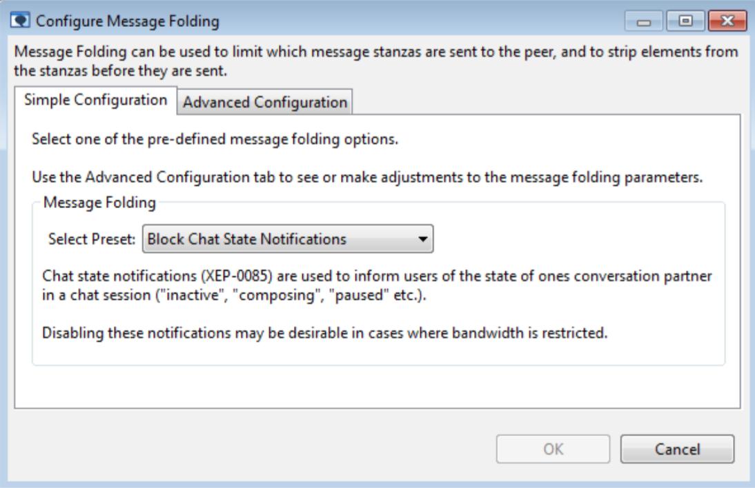 message-folding