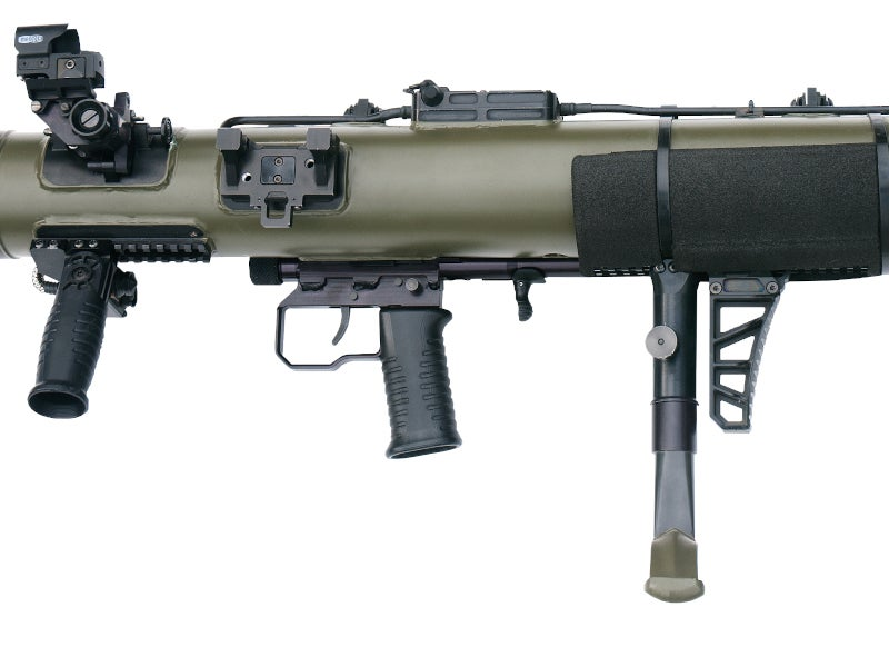 Carl-Gustaf M4 (CGM4) is a man-portable weapon system developed by Saab.