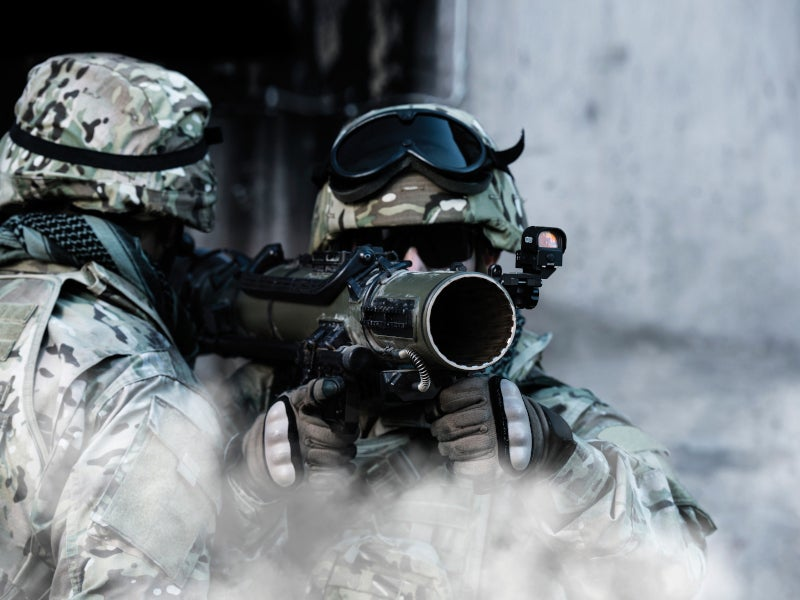 CGM4 is equipped with standard clip-on telescopic sighting.