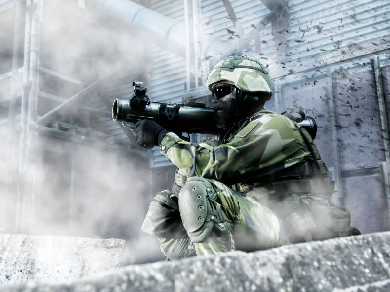 Carl-Gustaf M4 can be fitted with existing and future ammunition types.