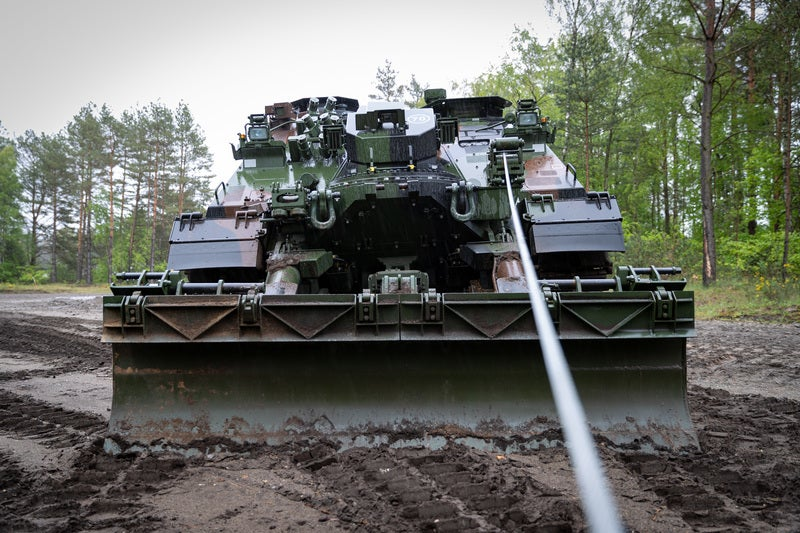 ROTZLER manufactures winches for defence vehicle systems.