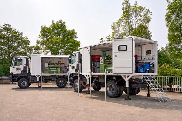 Gemco safety son, UN renault trucks
