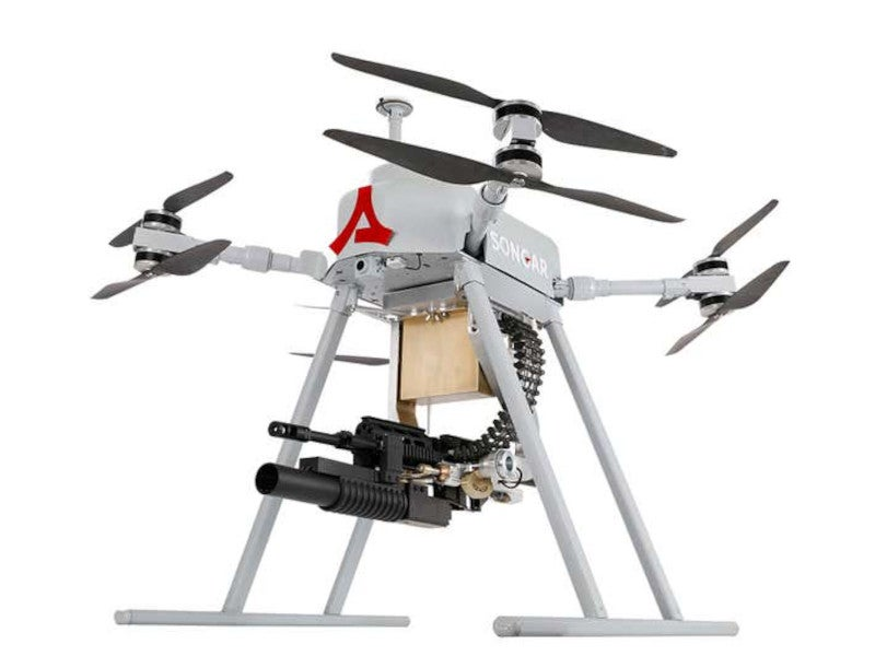 Image 4-SONGAR Armed Drone System