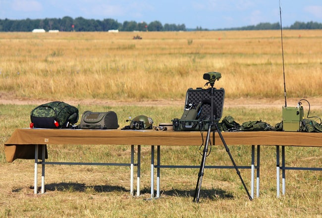 Military equipment and military equipment for display