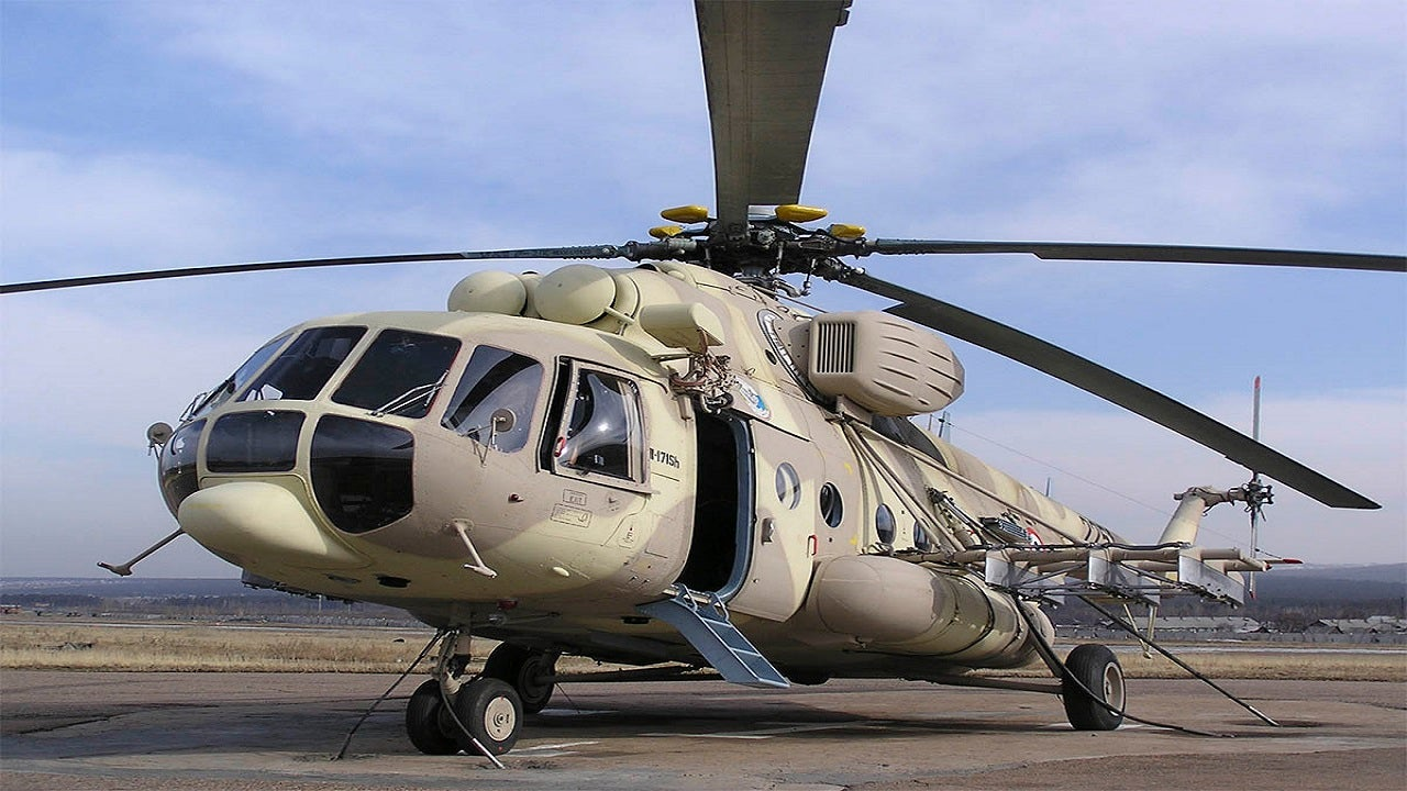 Image 1-Mi-171Sh Combat-Transport Helicopter