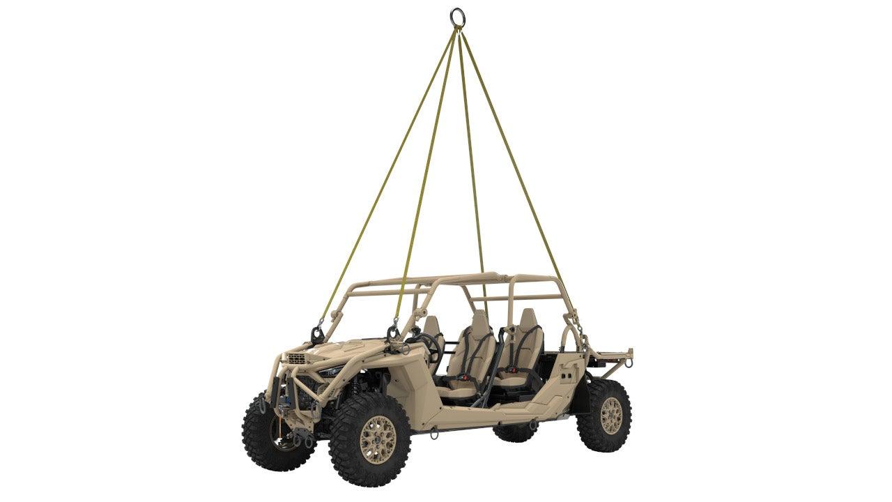 Image 4-MRZR Alpha Light Tactical Vehicle