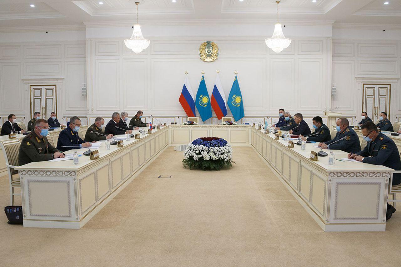 Russia Kazakhstan military cooperation