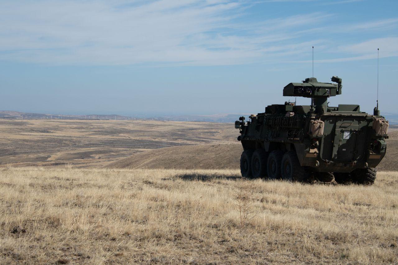 US Army Stryker ATGM