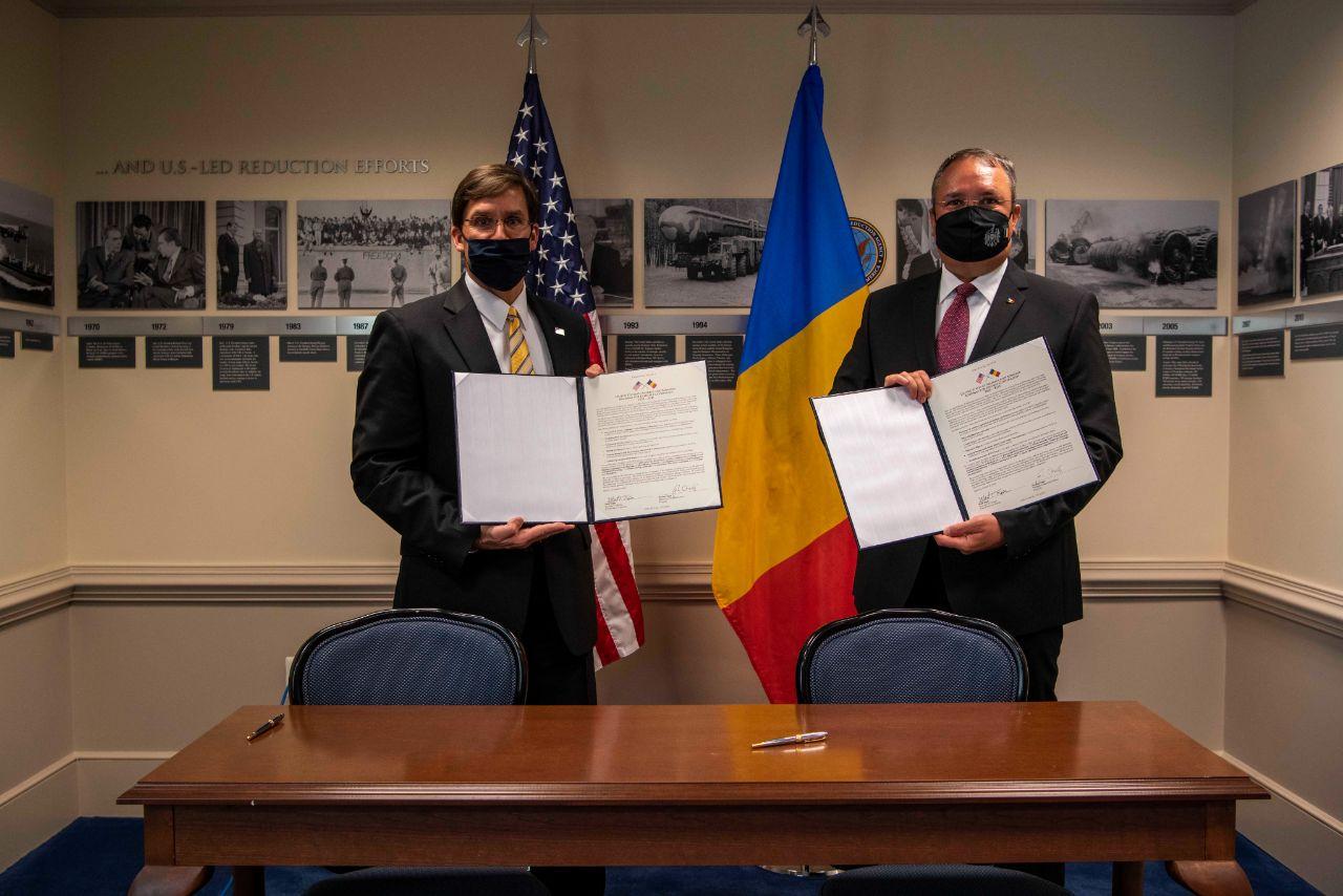 US Romania defence cooperation