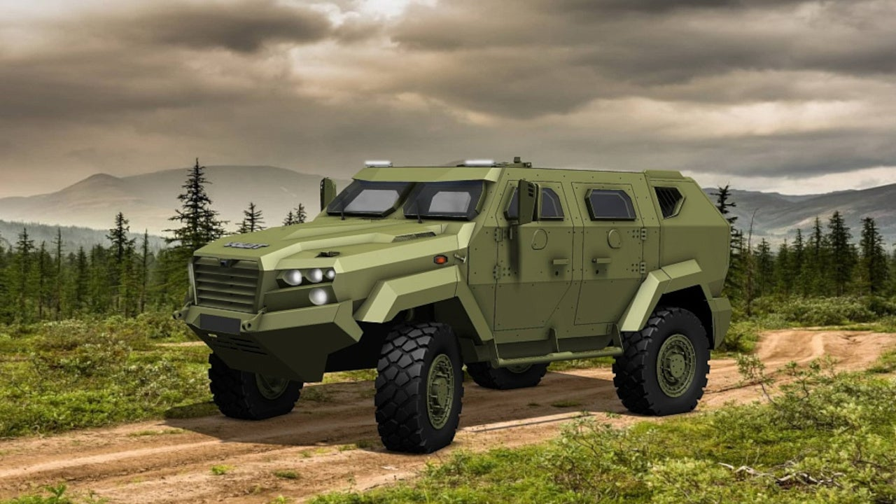 Image 1-VOLAT MZKT-490101 Light Armoured Vehicle