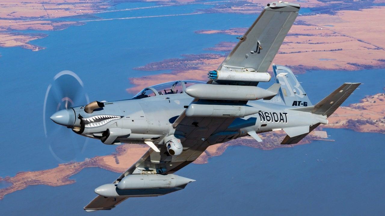 Image 2-Beechcraft AT-6 Wolverine