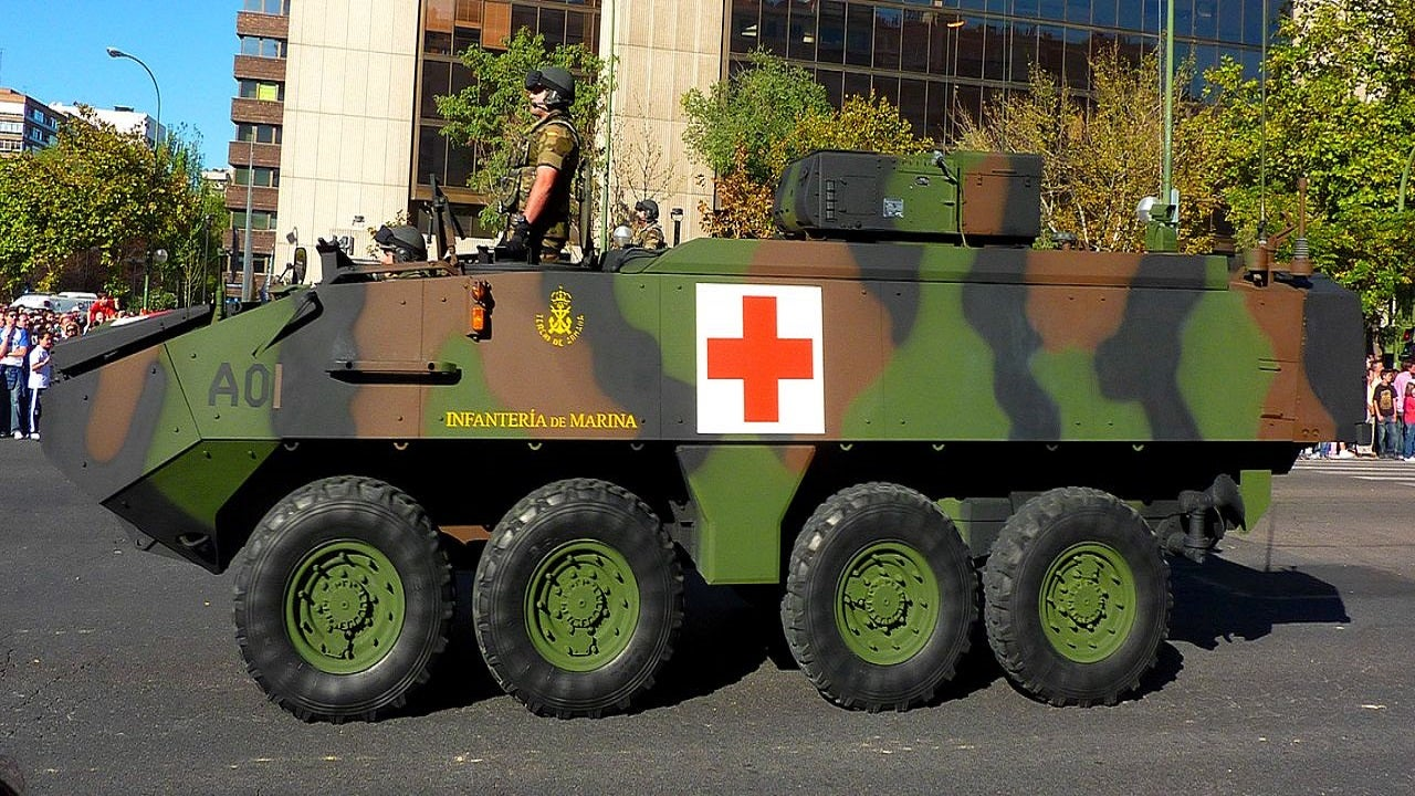 Image 2-PIRANHA III LAV III Armoured Wheeled Vehicles