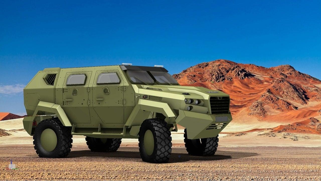 VOLAT MZKT-490101 Light Armoured Vehicle