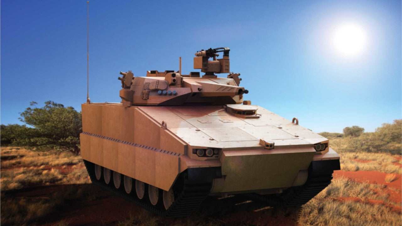 Image 1-AS21 Redback Infantry Fighting Vehicle