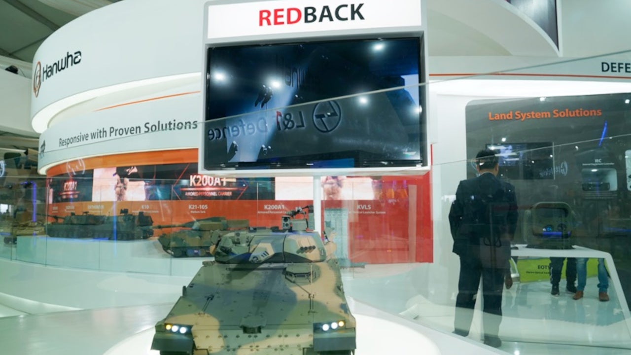 Image 2-AS21 Redback Infantry Fighting Vehicle