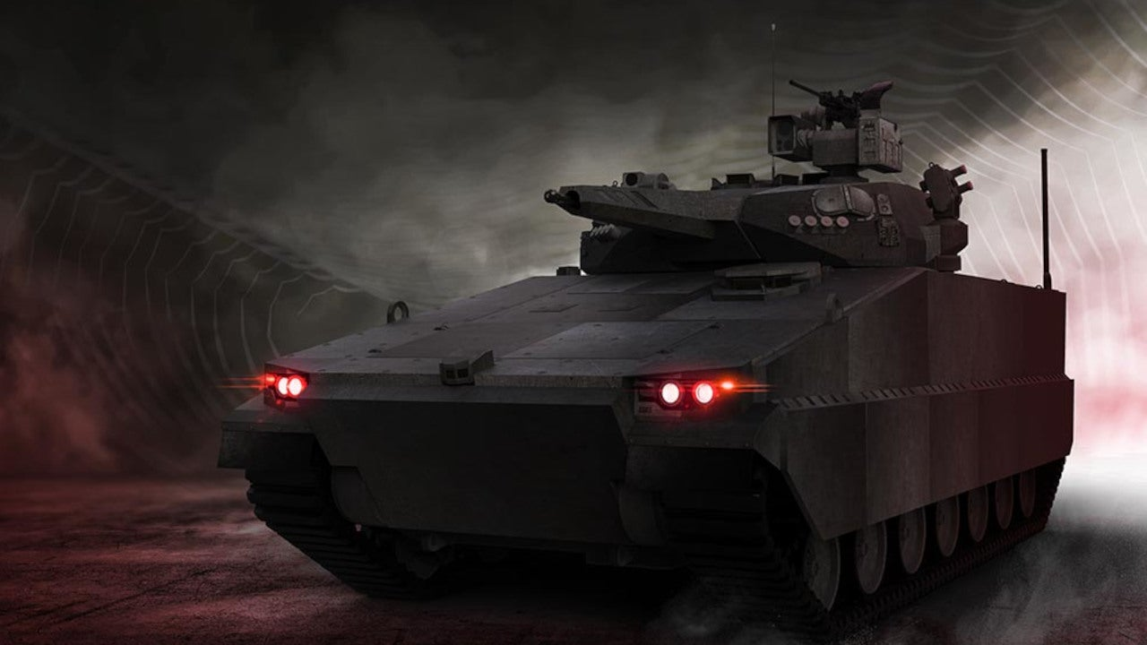 Image 3-AS21 Redback Infantry Fighting Vehicle