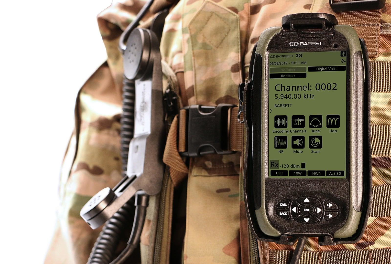 PRC-4090 Control Handset with webbing