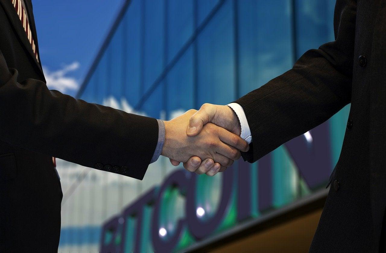 handshake men