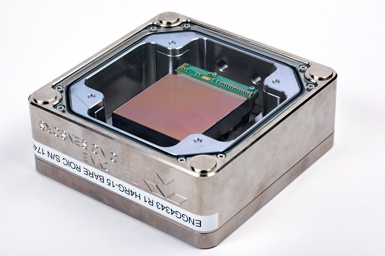 One of the new MOONS detectors