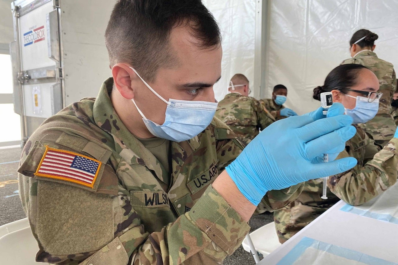 US DoD authorises more personnel to assist Covid-19 vaccination centres