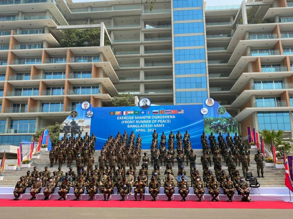Indian Army joins multinational military exercise in Bangladesh
