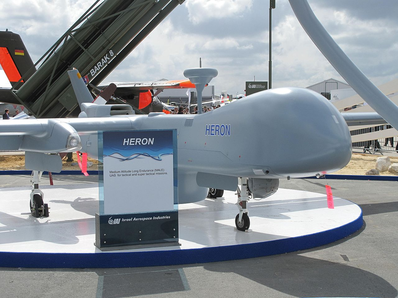 Indian Army to acquire four Israeli Heron drones on lease