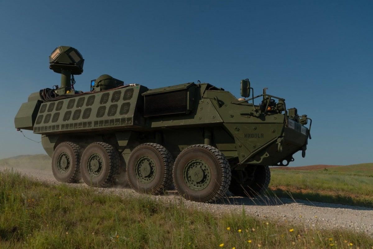 KBR demonstrates capabilities of DE M-SHORAD during combat shoot-off